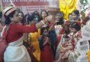 মহিলা পুরোহিত দ্বারা কুমারী পুজো করা হল বহরমপুরের দুর্গা বাহিনীর পুজোতে